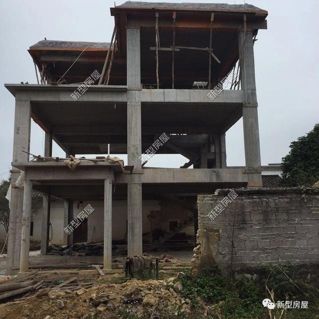 农村建房,到底是框架结构好,还是砖混结构好?来对比一