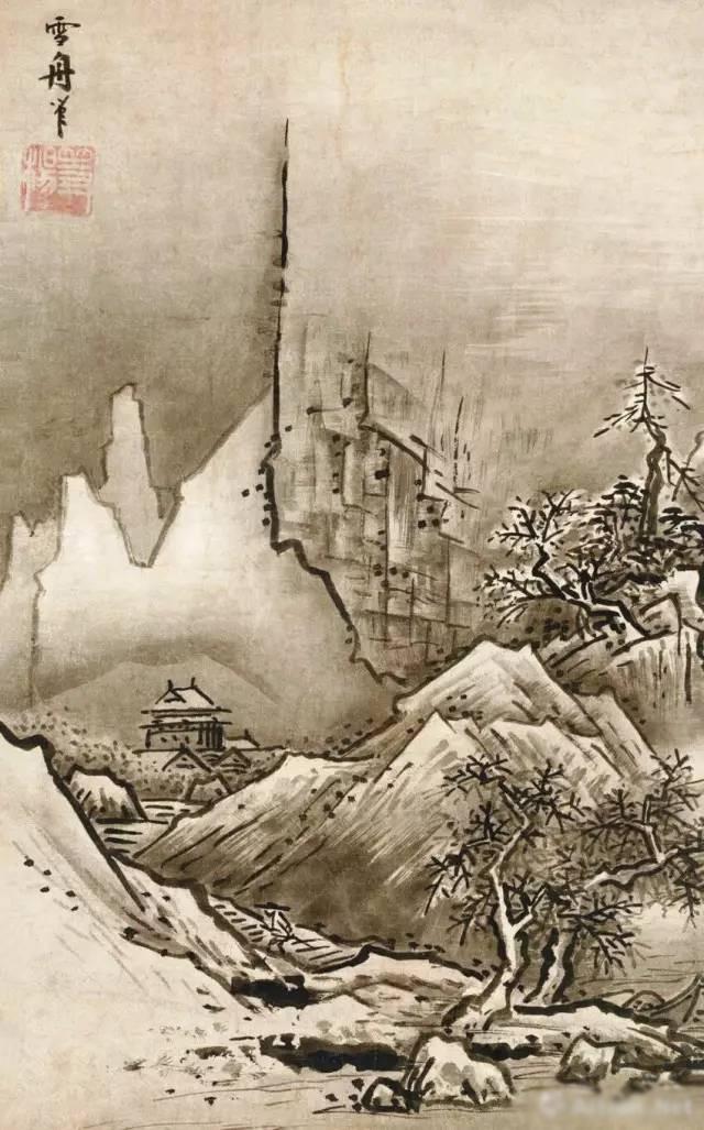 宋代绘画特别是南宋山水画对日本水墨画的影响最为明显