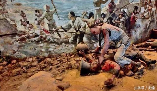 女裸体阴门艺术_战斗在即,清军用女人的秽物摆起了阴门阵,结果被英军打脸