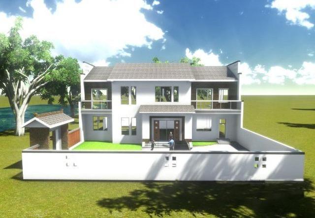 农村两房一厅楼房设计图纸展示