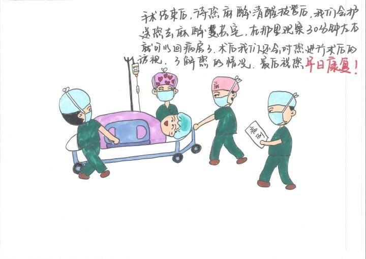 """一本漫画揭秘""""神秘的手术室"""",浦江护士暖心巧解病人""""心慌慌"""""""