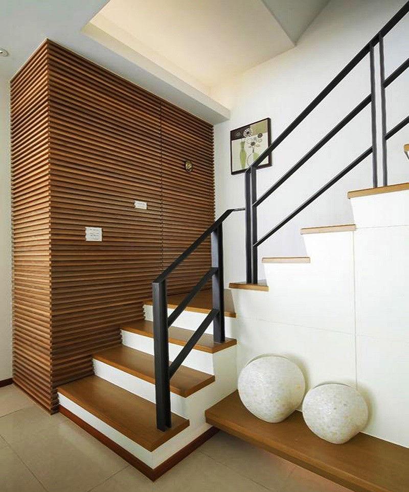 朔州市180平米复式楼现代简约风格装修设计图,楼梯是亮点
