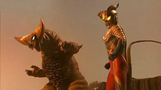 奥特曼中的怪兽之王_怪兽之王哥斯拉原来真的还有后代!在奥特曼中它的名字
