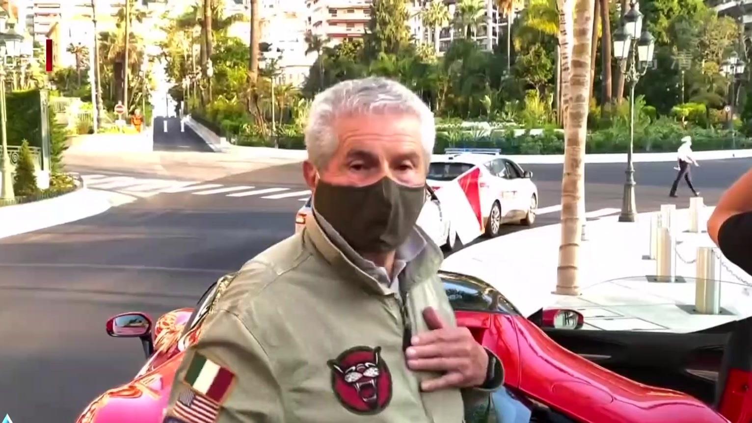 勒克莱尔摩洛哥拍短片  独享家乡赛道两小时