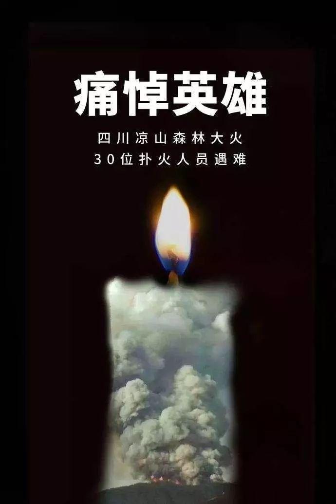 """""""3.30""""木里森林火灾中牺牲的英雄名单图片"""