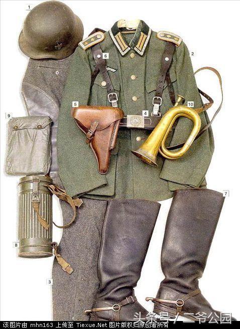 1940德国国防军司号军官