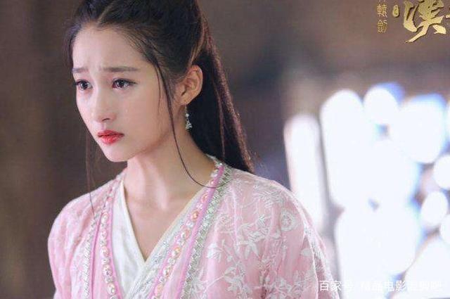 穿粉色古装的女明星们,李沁迪丽热巴最美,关晓彤太让人惊艳了