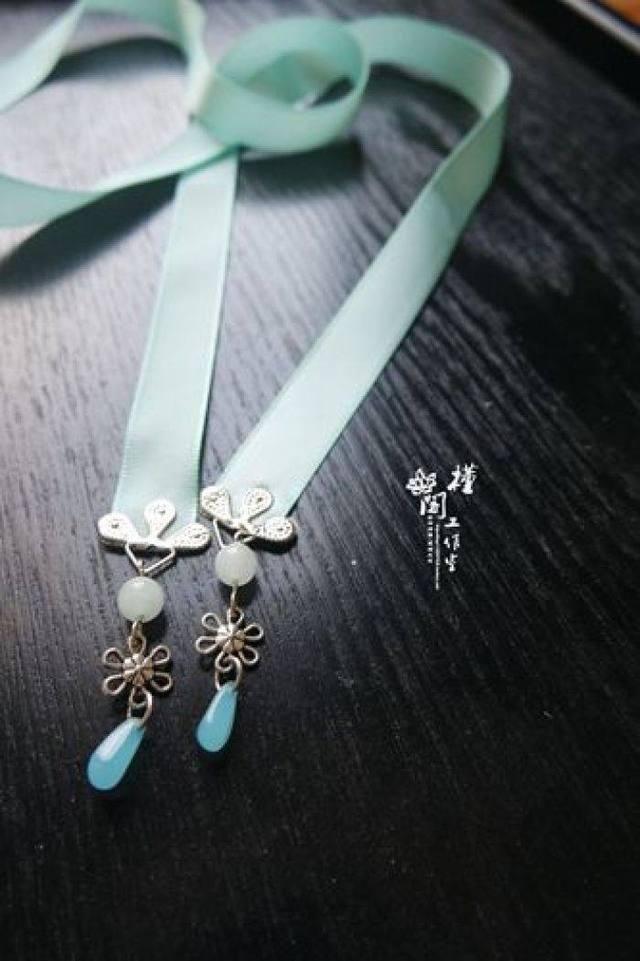十二星座狗年专属汉服发带,摩羯座的珍珠发带双鱼座男人是不是容易出轨图片