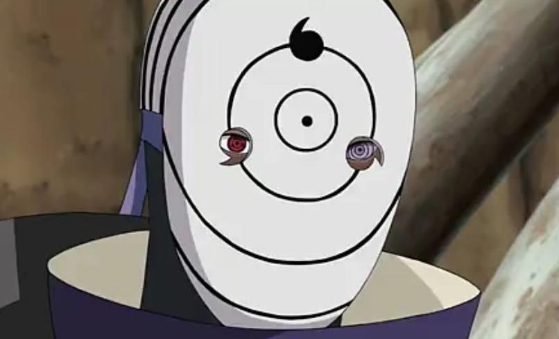 三勾玉轮回眼面具,这个面具是真的帅气,不过也暴露了自己有轮回眼和