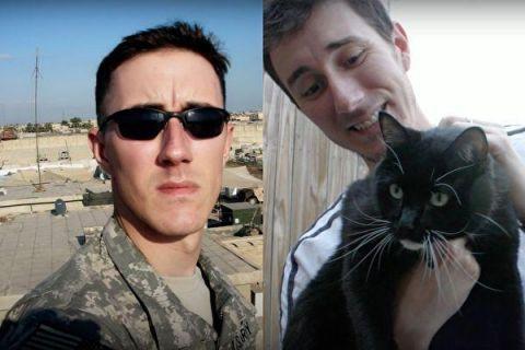 退伍军人征服女上�_退伍军人绝望到想自杀 被流浪猫救起后人生从此反转