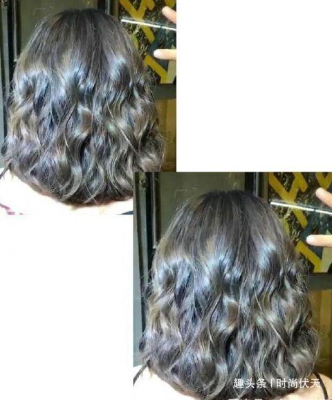 2019流行烫发:37岁女人头发少贴头皮,烫个蛋卷头年轻7图片