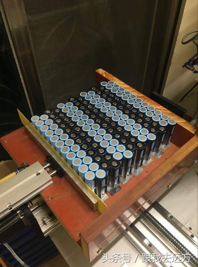 电动车改装72v92ah锂电池,续航达350公里