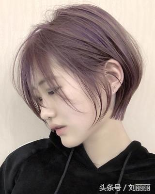 春节最修饰短发头型20款,美到逆天泡面头女烫图片
