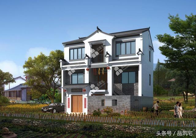 5套100方左右的中式乡村小别墅,小面积的都看过来!
