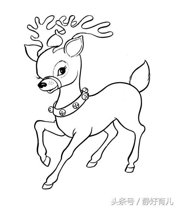 这几款幼儿圣诞主题简笔画,家长老师请收好!宝宝创作简单又漂亮