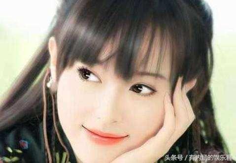 古装女星手绘画, 赵丽颖呆萌, 郑爽清新脱俗, 而她美的不像话
