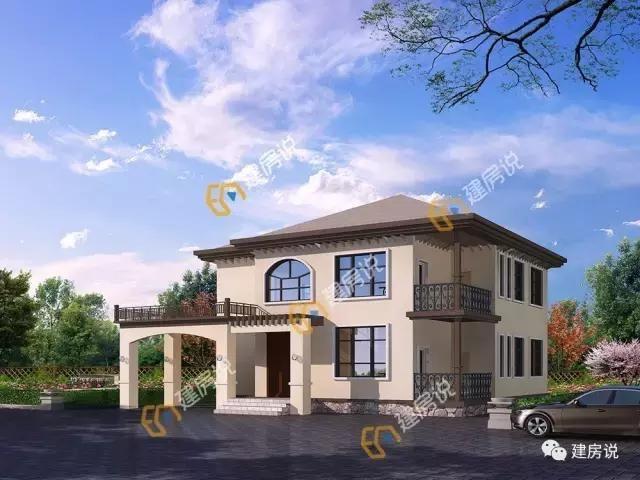 9款经典二层农村自建别墅户型,通通只要20万!一辆车钱