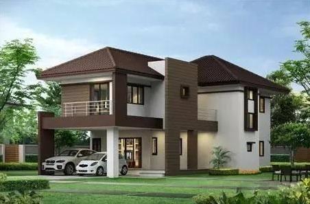 2套8x10米农村别墅,小户型也能建出秀外慧中的房子!
