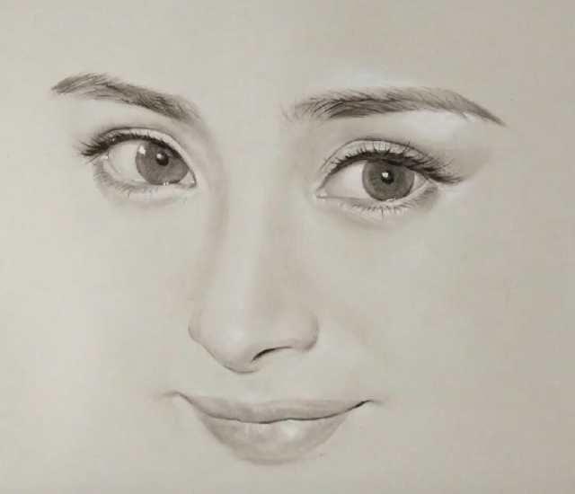 女明星的图片头像_六大女明星的手绘头像,迪丽热巴难找,杨幂最好认!你知道这是谁吗?