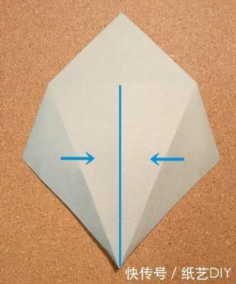 立体可爱小老鼠手工折纸教程