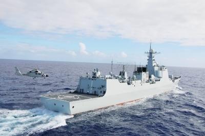 中俄两国海军将于9月在南海举行联合军事演习.