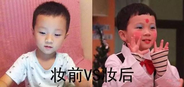 外国小朋友妆容精致,而中国小朋友却这样