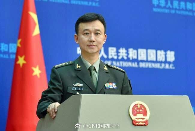 国防部新闻发言人吴谦就武警部队旗寓意答问