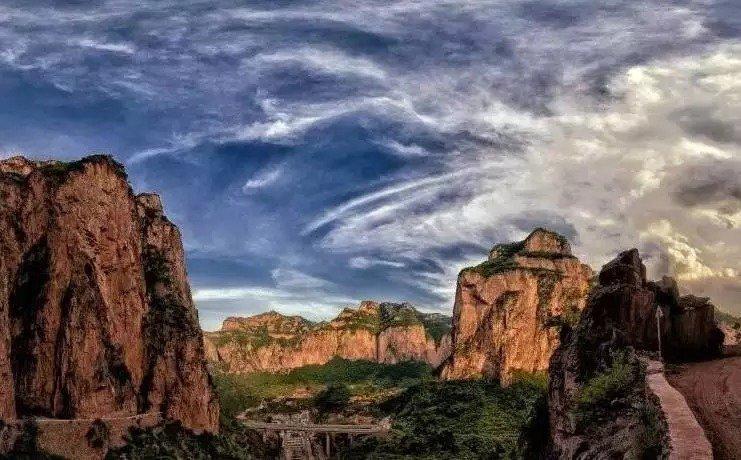邢台大峡谷是国家aaaa级景区,国家重点风景名胜区,国家地质公园,景区