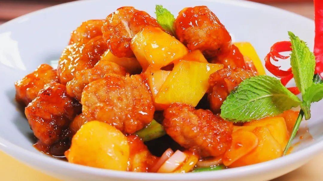 【养生厨房】今日菜品——《没有荔枝的荔枝肉》