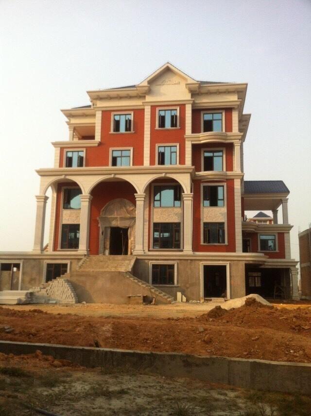 农村土豪看西安,福清别墅看江阴,让你建房便宜的别墅自不服不行的别墅区最福清图片