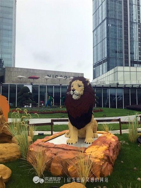 100万块乐高的动物世界,最不可思议的展览!-北京时间