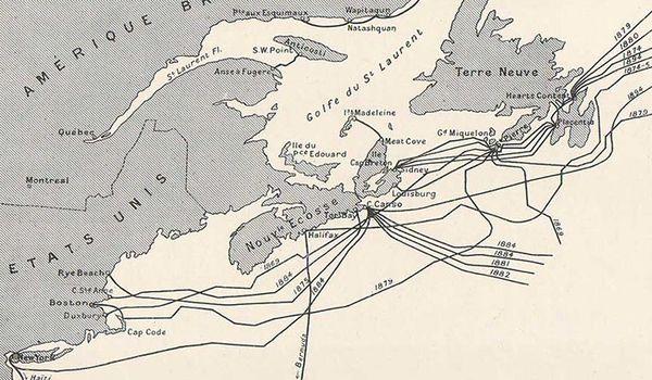 加拿大地圖簡筆畫手繪