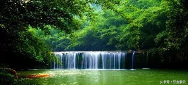 壁纸 风景 旅游 瀑布 山水 桌面 640_291