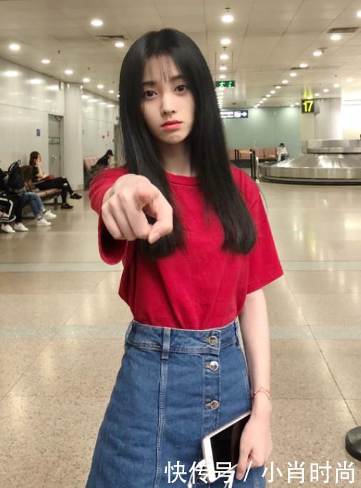 鞠婧真敢穿,一袭超短裙穿出性感风,这双纤细上位整版艳完性感古装韩国星图片