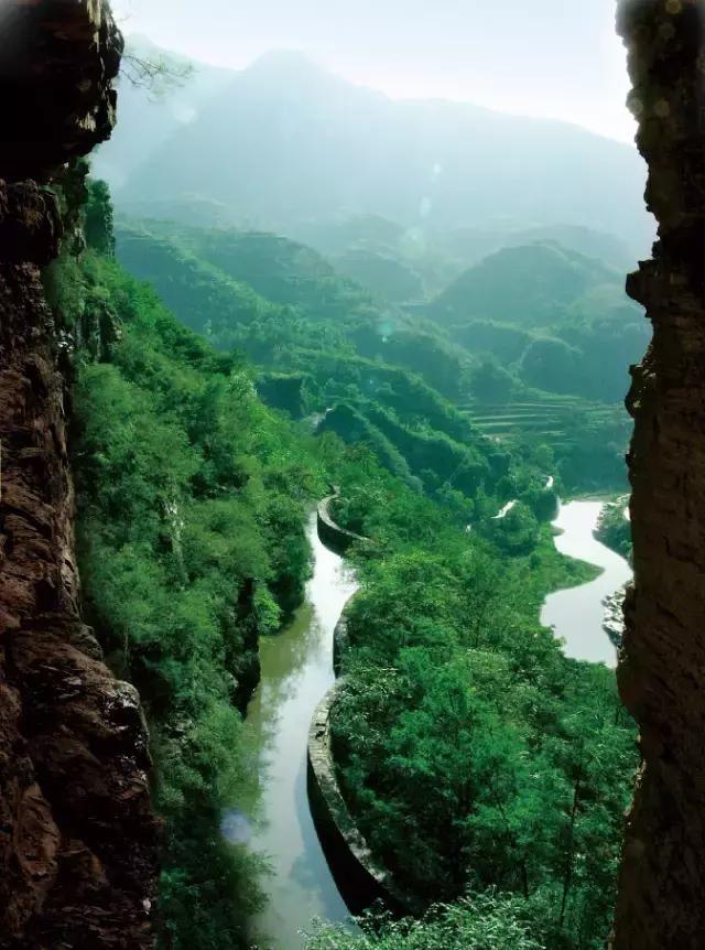 林州市红旗渠风景区:每个景色都是大片
