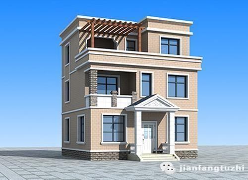 6款开间12m三层别墅,农村房胜过城里厦,毋庸置疑图片