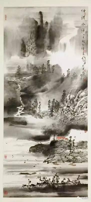 山水诗情——王明泽写意山水作品鉴赏