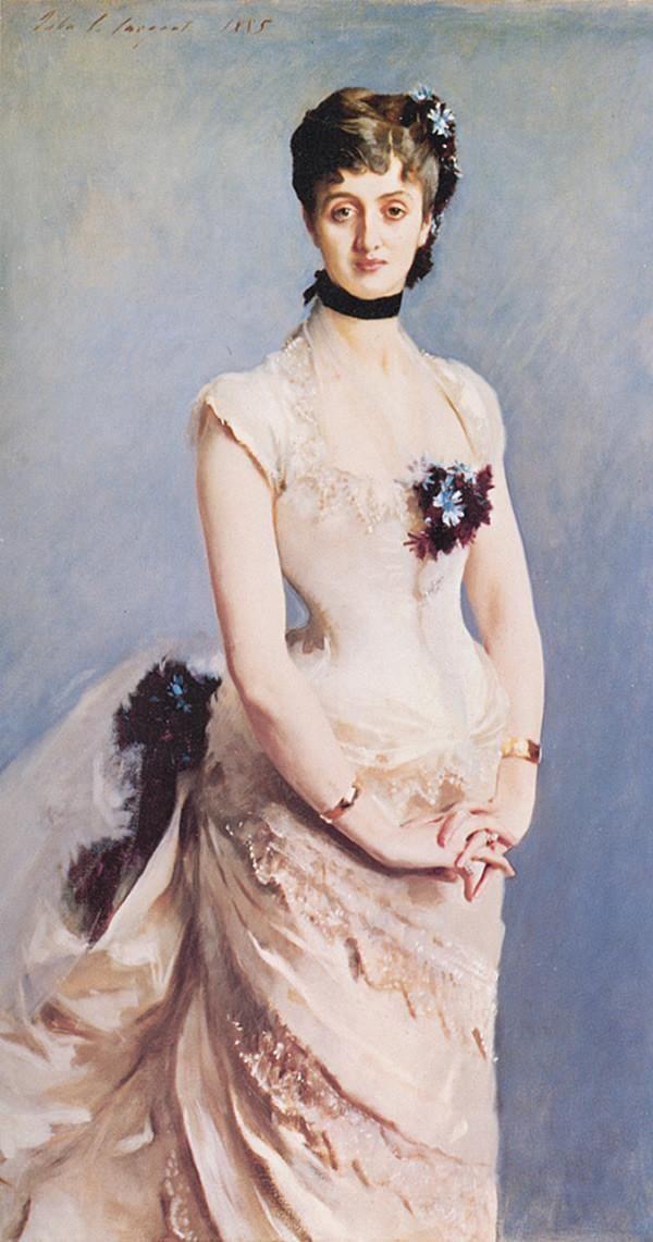 20世纪美国最伟大的肖像画家约翰辛格萨金特油画作品欣赏