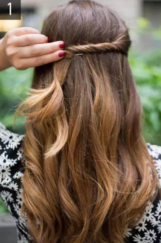 懒人必备编发技能,5款简单发型,美哭了
