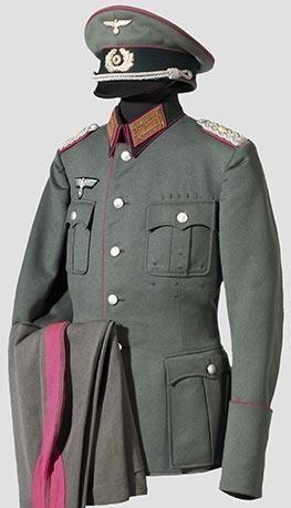 二战德国国防军制服演变图解