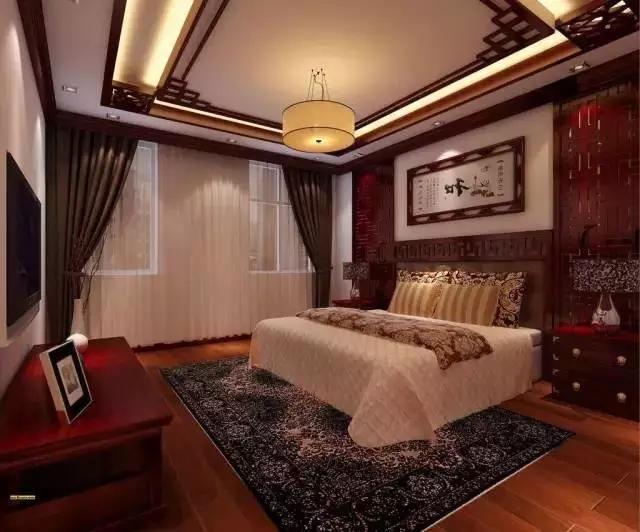 如果你对中式风格卧室情有独钟,红木卧室家具绝对是你