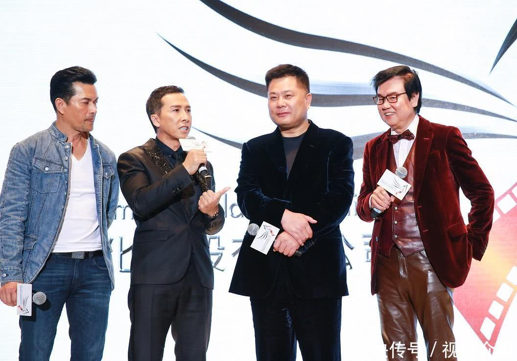 甄子丹是《叶问》系列的主心骨,这部续集他狮子大开口要价1亿片酬,他图片
