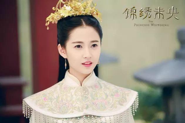 最美古装公主排名,关晓彤垫底,赵丽颖第二,第一毫无疑问!
