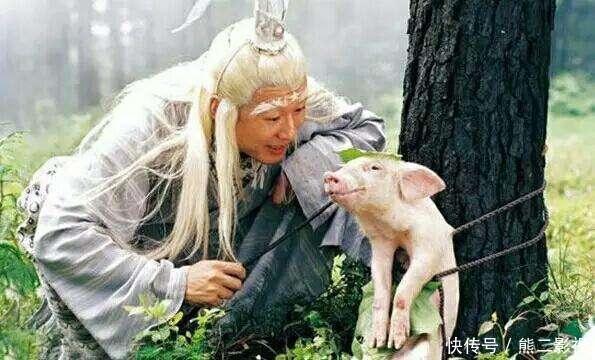 饰演太白金星的扮演者孙兴,随着剧情的发展太白金星后来还成了小毛孩