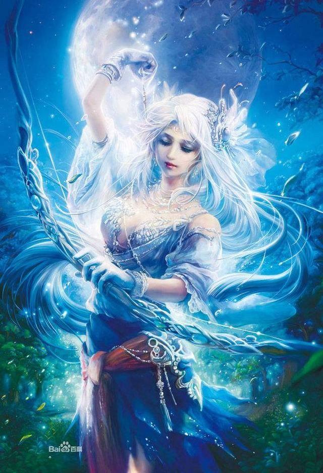 白羊座代表的神--星座运气帕尔卡薛佳凝女神图片