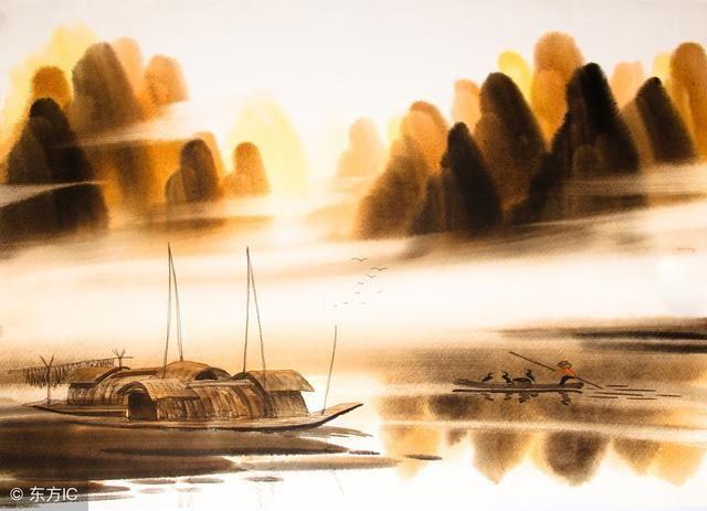 钱塘湖春行(白居易) 孤山寺北贾亭西,水面初平云脚低.