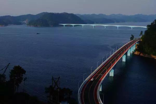 体验最美的 150公里环湖绿道圈 千岛湖大桥——红叶湾景区——小金山