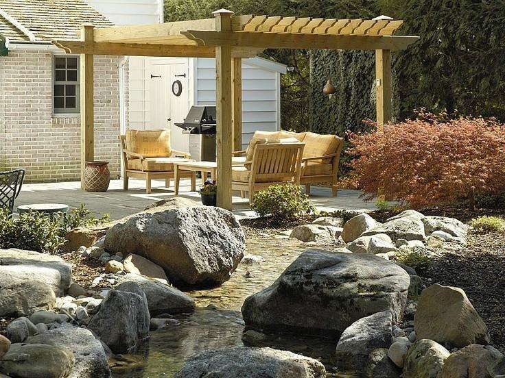 這樣的農村別墅小庭院,美爆了!鄉下有房的就按這來建一個