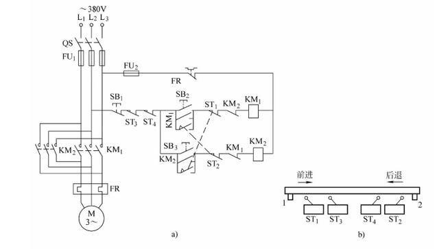 1,三相异步电动机正反转控制电路 交流电动机的正反转控制电路 5