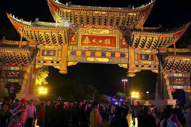 云南各州市旅游景点大全